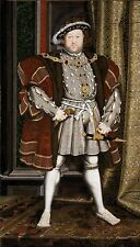 Henry VIII of England by Hans Holbein Fine Art Giclee Canvas Print 20x36