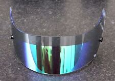 GENUINE ARAI GREEN IRIDIUM LIGHT TINT ANTI FOG VISOR GP-6/GP-6S/SK-6