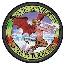 BLACK Sabbath-Patch ricamate-World Tour 78 10x10cm