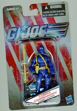 GI JOE COBRA COMMANDER Cobra Leader Wave 2 Blue DOLLAR GENERAL EXCLUSIVE MOC