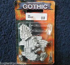 1999 Battlefleet Gothic Ork Pirata matar kroozer Cruiser Games Workshop BFG MIB