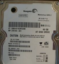 "Seagate ST960821A 9AH237-020 FW:3.02  60gb 2.5"" IDE Laptop Hard Drive"