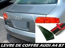 LAME DE COFFRE AUDI A4 B7 04-2009 QUATTRO RS4 V8 SPOILER BECQUET LEVRE AILERON