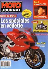 MOTO JOURNAL 1102 Salon PARIS 1993 ; SUZUKI RF 600 R ; HONDA VFR 750 F Canopy