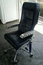 Aircraft Airplane MD80 office desk CHAIR Computer Mancave Movie Seat Aviation