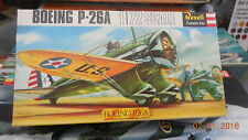REVELL 1/72 SCALE MODEL AIRCRAFT KIT H.656 Boeing P-26A Unmade in Box 1966