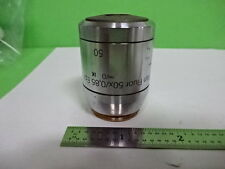 MICROSCOPE PART REICHERT POLYVAR OBJECTIVE DIC 50X FLUOR EPI OPTICS AS IS #AI-24