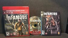 PS3 - INFAMOUS complete in box  TESTED  Disk is MINT!    Greatest Hits version