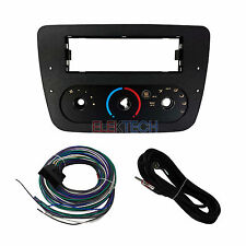 Single DIN with Climate Controls Radio Dash Mount Kit for 2000-2007 Ford Taurus