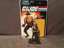GI Joe SDCC 2010 Sgt Slaughter (Mail Away Version) w/ Cardback 100% Complete