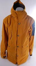 2014 BONFIRE BARREL 3-IN-1 LONG SNOWBOARD JACKET $480 M pirate gold pants USED