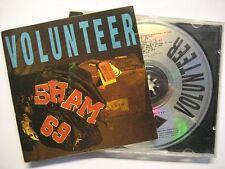 """SHAM 69 """"VOLUNTEER"""" - CD"""