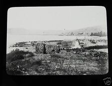 Glass Magic Lantern Slide BETHSAIDA C1900 ISRAEL
