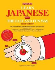 Learn Japanese the Fast and Fun Way [With Dictionary] by Nobuo Akiyama Paperback