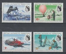 British Antarctic Territory 1969 Servizi scientifici 21-24 MNH