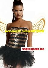 MAYA the bee Sparkle Queen Bee Fancy Dress Costume