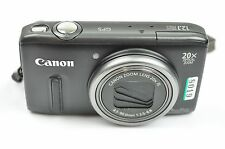 Canon PowerShot SX260 HS 12.1MP 3''Screen 20x Zoom Digital Camera - BLACK