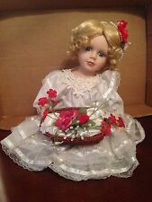 Heritage Collection Brie Sitting Porcelain Doll