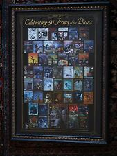 Cemetery Dance Rare 50th Cover Poster - Custom Framed & Free Insured US Shipping