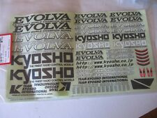 Kyosho Evolva Decal Sheet New   FM500-01