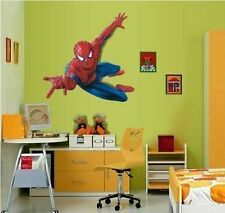 Xl Spiderman Niño la guardería de niños de calcomanías de pared enorme 90cm X 60cm Hoja
