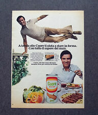 H212 - Advertising Pubblicità - 1977 - OLIO CUORE , TUTTO IL SAPORE DEL MAIS