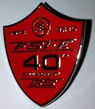 Yamaha Fs1e Fizzy Fs1 Fs1e Ss 40th Anniversary Ltd Edition Esmalte Pin Insignia