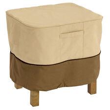 """NEW Outdoor Cover Ottoman/Side Table 38""""L 28""""W 17""""H  Gardelle Veranda"""