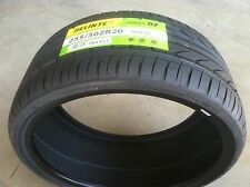 NEW (pair) 255 30 20 DELINTE Thunder D7 series ultra high performance tires x2