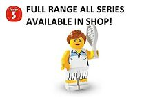 Lego minifigures tennis player series 3 (8803) new factory sealed