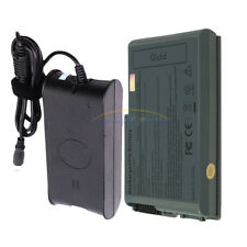 New AC Adapter Charger+6 Cell Battery for Dell Latitude D520 D500 D530 D600 D610