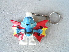 VINTAGE NOS KEYCHAIN (S20C-58) - SMURF with WINGS - FLYING
