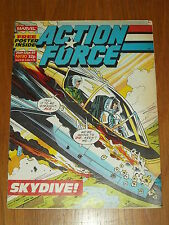 ACTION FORCE #30 26TH SEPTEMBER 1987 MARVEL BRITISH WEEKLY COMIC WITH FREE GIFT