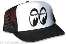 MOON EYES TRUCKER HAT HOT ROD RAT CUSTOM DRAG RACING GASSER VINTAGE STYLE CAP