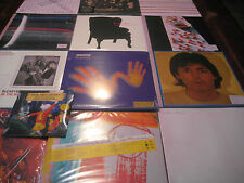PAUL MCCARTNEY SOLO & WINGSPAN COLLECTORS 19 TITLES 33 SIDES OF VINYL RARE SET