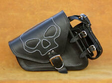 HIGH QUALITY LEATHER SADDLEBAG PANNIER HARLEY DAVIDSON SPORTSTER