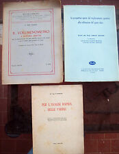 1940 LOTTO DI 3 OPERE SUL GRANO CEREALI FARINA VOLUMENOMETRO PER RISO. BARILLA