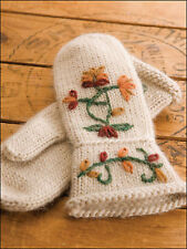 Warm Hearts Knitted Gloves Mittens Kids - Adults Easy Knitting Pattern Book NEW