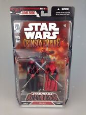 Star wars figurine set-comic packs carnor jax & kir kanos crimson empire