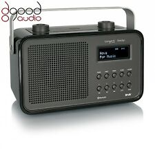 TANGENT DAB2GO BLUETOOTH DAB+ RADIO AND BLUETOOTH SPEAKER MUSIC SYSTEM - BLACK