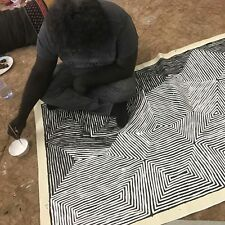 ABORIGINAL ART PAINTING by JAKE TJAPALTJARRI 'TINGARI CYCLE' Authentic, WIP..