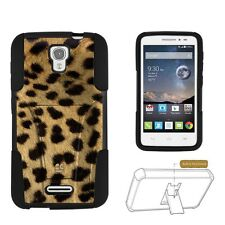 Beyond Cell Shell Case Hyber For Alcatel Pop Astro 5042T Cheetah Cheetah