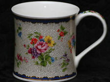 DUNOON CHINTZ BOUQUET Fine Bone China WESSEX Mug #1