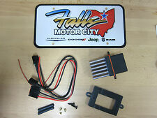1999-2004 Jeep Grand Cherokee WJ Blower Motor Resistor & Wiring Kit Mopar OEM