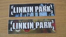 LINKIN PARK 2003 meteora PAIR OF (2) PROMOTIONAL STICKERS NEW/UNCIRCULATED