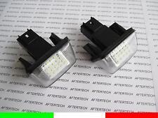 PEUGEOT 5008 PARTNER M59 B9 M49 TEPEE LAMPADE TARGA LED NO ERRORE CANBUS 18