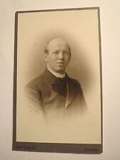 Barmen - 1907 - Herr G. Becker als Mann mit Glatze - Portrait / CDV