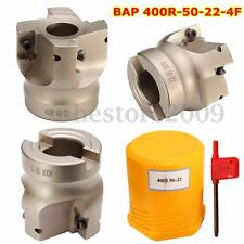 BAP 400R-50-22 Indexable 4 Flute Face Milling Cutter End Mill FOR APKT1604APMT