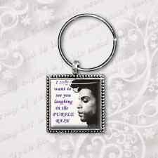 Prince keyring Prince Purple Rain Keyring Handmade in the UK by Dandan Designs