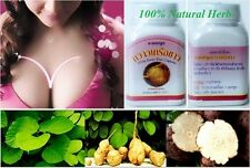 100 Pills Pueraria Mirifica Natural Herb Breast Enlargement Enhancement Bigger.